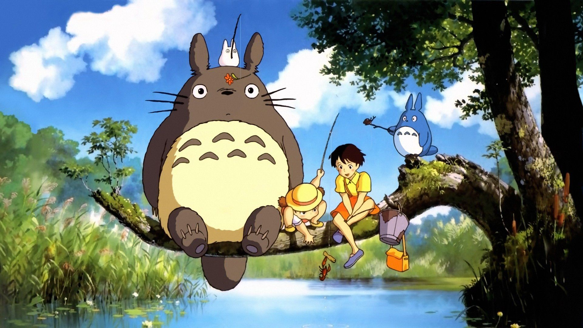 totoro growing tree